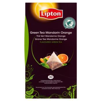 Lipton Green Tea Mandarin Orange Herbata  zielona 54 g (30 torebek)