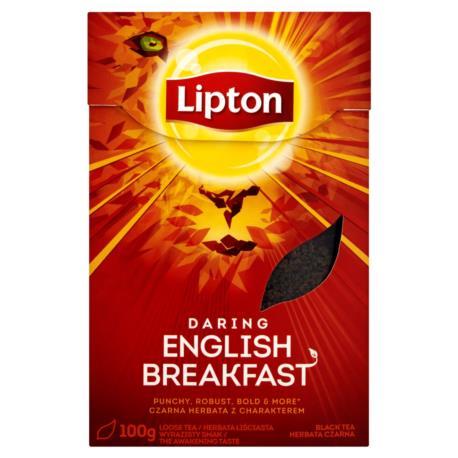 Lipton Daring English Breakfast Herbata  czarna 100 g