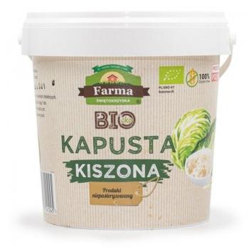 KAPUSTA KISZONA BIO 3 kg (WIADERKO) - FA RMA ŚWIĘTOKRZYSKA
