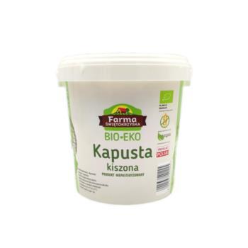KAPUSTA KISZONA BIO 1 kg (WIADERKO) - FA RMA ŚWIĘTOKRZYSKA