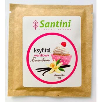KSYLITOL WANILIOWY 16 g - SANTINI (FINLA NDIA)