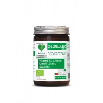 CHLORELLA BIO 500 mg 50 KAPSUŁEK - BE OR GANIC