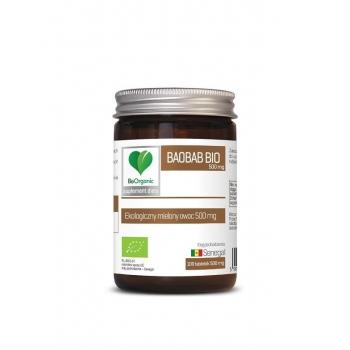 BAOBAB BIO 500 mg 100 TABLETEK - BE ORGA NIC