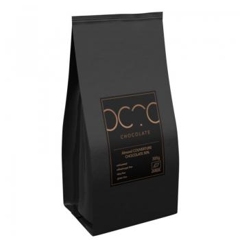 CZEKOLADA KUWERTURA MIGDAŁOWA BEZGLUTENO WA BIO 1 kg - HORECA (COCOA)