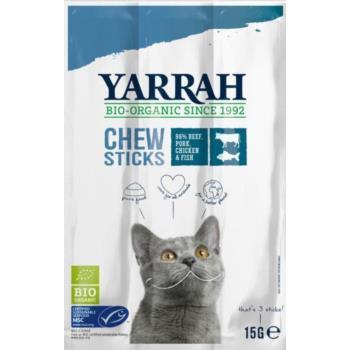 (DLA KOTA) PAŁECZKI DO GRYZIENIA Z WOŁOW INĄ BIO 15 g (3x5 g) - YARRAH