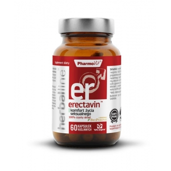 ERECTAVIN 60 KAPSUŁEK 29,36 g - PHARMOVI T (HERBALLINE)