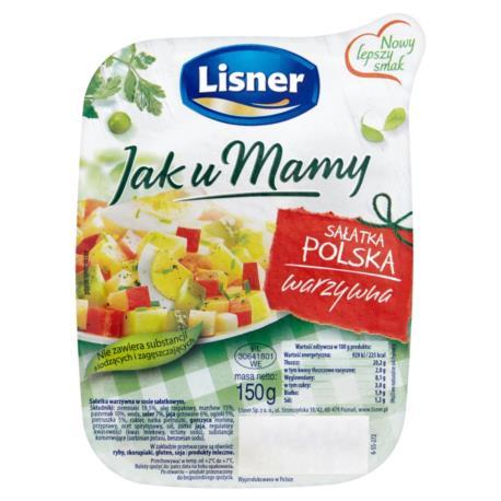 Lisner Jak u Mamy Sałatka polska warzywn a 150 g