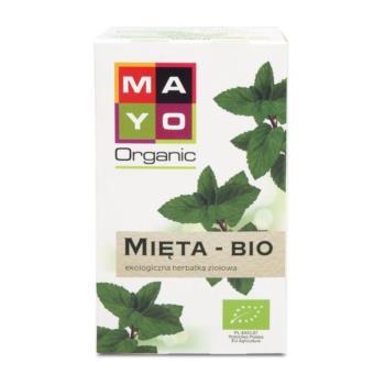 HERBATKA MIĘTA BIO (20 x 1,5 g) 30 g - M AYO