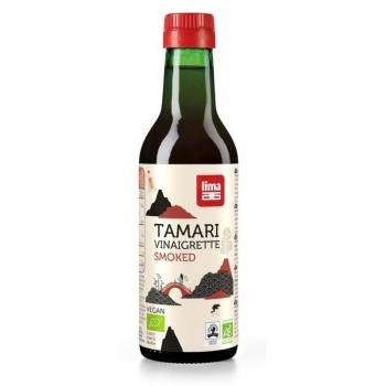 SOS SOJOWY TAMARI WINEGRET WĘDZONY BIO 2 50 ml - LIMA