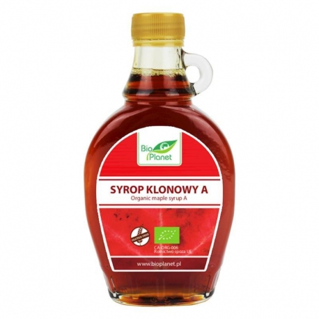 SYROP KLONOWY B BIO 250 ml - BIO PLANET