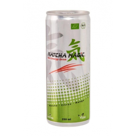 HERBATA MATCHA ENERGY DRINK BIO 250 ml -  MATCHA MAGIC