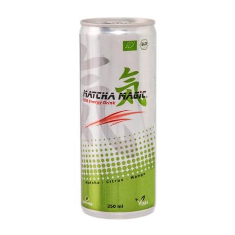 HERBATA MATCHA ENERGY DRINK BIO 250 ml -  MATCHA MAGIC