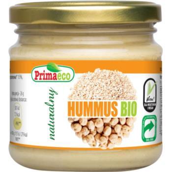 HUMMUS NATURALNY BEZGLUTENOWY BIO 160 g  - PRIMAECO