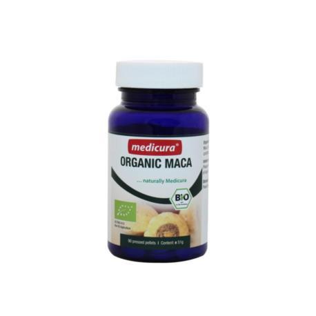 MACA (KORZEŃ) W PASTYLKACH BIO 60 g (90  szt.) - MEDICURA