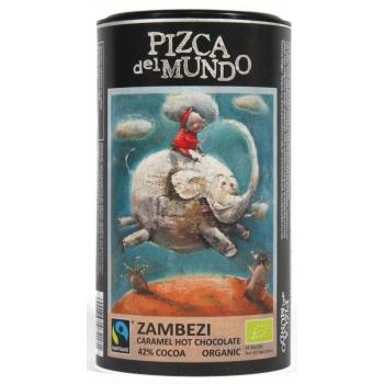 CZEKOLADA NA GORĄCO ZAMBEZI (KARMELOWA)  BIO 250 g - PIZCA DEL MUNDO FAIR TRADE