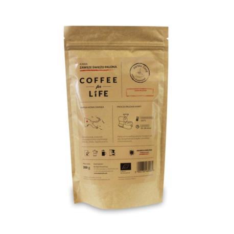 KAWA 100% ARABICA MIELONA PAPUA BIO 200  g - ALE EKO CAFE