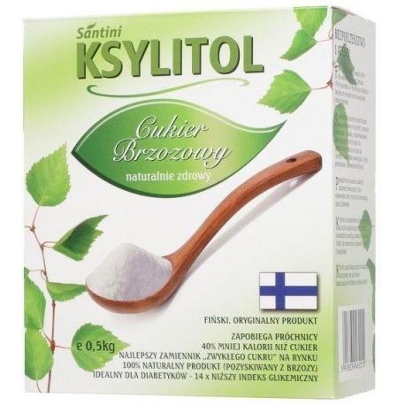 KSYLITOL C KRYSTALICZNY 500 g - SANTINI  (FINLANDIA)