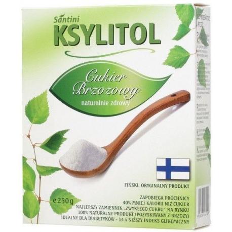KSYLITOL C KRYSTALICZNY 250 g - SANTINI  (FINLANDIA)