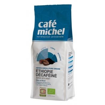 KAWA MIELONA BEZKOFEINOWA ARABICA 100 %  ETIOPIA FAIR TRADE BIO 250 g - CAFE MICH