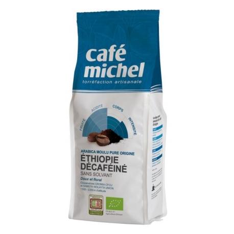 KAWA MIELONA BEZKOFEINOWA ARABICA ETIOPI A FAIR TRADE BIO 250 g - CAFE MICHEL