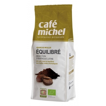 KAWA MIELONA ARABICA PREMIUM EQUILIBRE F AIR TRADE BIO 250 g - CAFE MICHEL