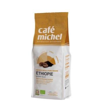 KAWA MIELONA ARABICA 100% MOKA SIDAMO ET IOPIA FAIR TRADE BIO 250 g - CAFE MICHEL