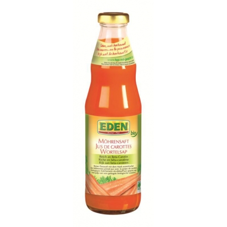 SOK MARCHEWKOWY BEZGLUTENOWY BIO 750 ml  - EDEN