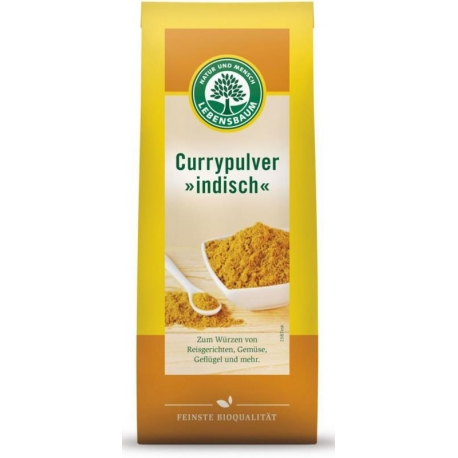 CURRY INDYJSKIE BIO 50 g - LEBENSBAUM