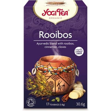 HERBATKA ROOIBOS BIO (17 x 1,8 g) - YOGI  TEA