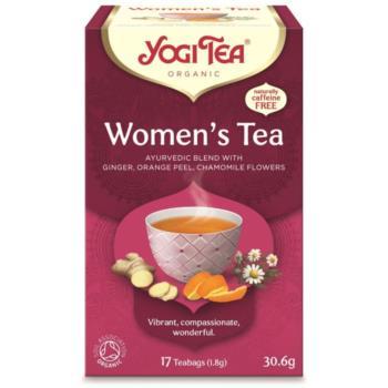 HERBATKA DLA KOBIET (WOMEN'S TEA) BIO (1 7 x 1,8 g) 30,6 g - YOGI TEA