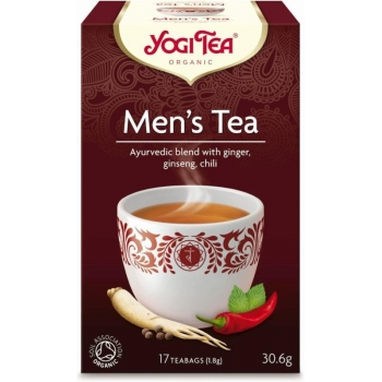 HERBATKA DLA MĘŻCZYZN (MEN'S TEA) BIO (1 7 x 1,8 g) 30,6 g - YOGI TEA