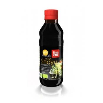 SOS SHOYU MNIEJ SOLI BIO 250 ml - LIMA