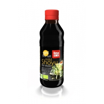SOS SOJOWY SHOYU MNIEJ SOLI BIO 250 ml -  LIMA