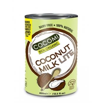 MLEKO KOKOSOWE W PUSZCE LIGHT (9% TŁUSZC ZU) BIO 400 ml - COCOMI