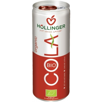NAPÓJ COLA BEZKOFEINOWY BIO 250 ml (PUSZ KA) - HOLLINGER