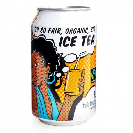 ICE TEA FAIR TRADE BIO 330 ml (PUSZKA) -  OXFAM