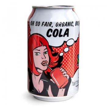 COLA FAIR TRADE BIO 330 ml (PUSZKA) - OX FAM