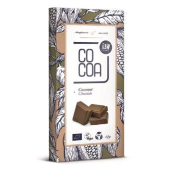 CZEKOLADA KOKOSOWA BIO 50 g - COCOA