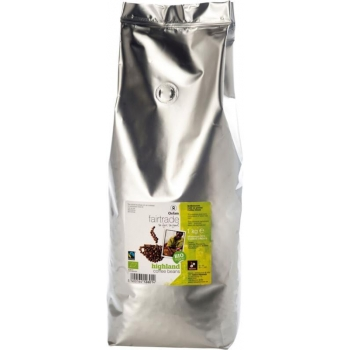 KAWA ZIARNISTA ARABICA 100 % FAIR TRADE  BIO 1 kg - OXFAM