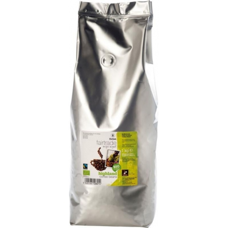 KAWA ZIARNISTA ARABICA FAIR TRADE BIO 1  kg - OXFAM