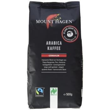 KAWA MIELONA ARABICA 100 % FAIR TRADE BI O 500 g - MOUNT HAGEN