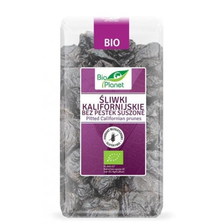 ŚLIWKI KALIFORNIJSKIE BEZ PESTEK BIO 400  g - BIO PLANET