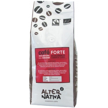 KAWA ZIARNISTA FORTE FAIR TRADE BIO 500  g - ALTERNATIVA