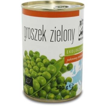 GROSZEK ZIELONY KONSERWOWY BIO 340 g (27 0 g) - BIO EUROPA