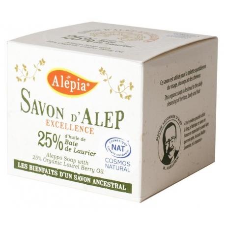 MYDŁO ALEP EXCELLENCE 25% BIO 190 g - AL EPIA