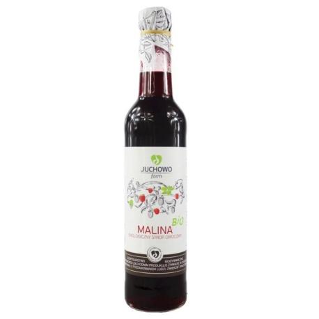 SYROP MALINOWY BIO 400 ml - JUCHOWO (FUN DACJA)