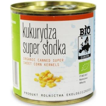 KUKURYDZA SUPER SŁODKA KONSERWOWA BIO 16 0 g (140 g) - BIO EUROPA
