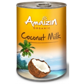 COCONUT MILK - NAPÓJ KOKOSOWY BEZ GUMY G UAR W PUSZCE (17% TŁUSZCZU) BIO 400 ml -
