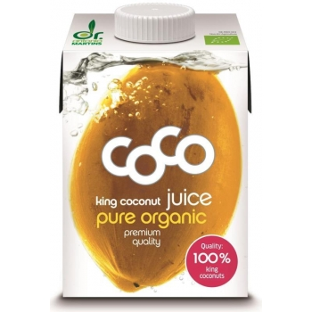 WODA KOKOSOWA KING BIO 500 ml - COCO (DR  MARTINS)