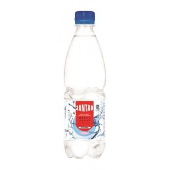 WODA ŹRÓDLANA ŚREDNIOZMINERALIZOWANA GAZ OWANA 500 ml - JANTAR